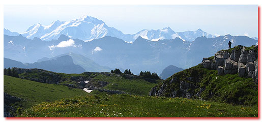 Mont Blanc et Aravis